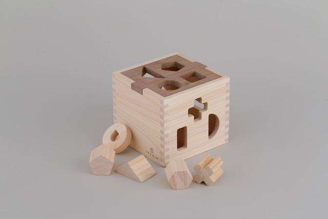 ドロップボックス DROPBOX ※送料無料 | 木のおもちゃ 出産祝い 型はめおもちゃ