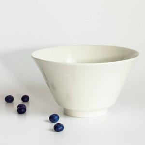aito製作所 「シエル Ciel」きほんのうつわ どんぶり鉢 ボウル 皿 直径約17×深さ9.4cm ホワイト 美濃焼 520118