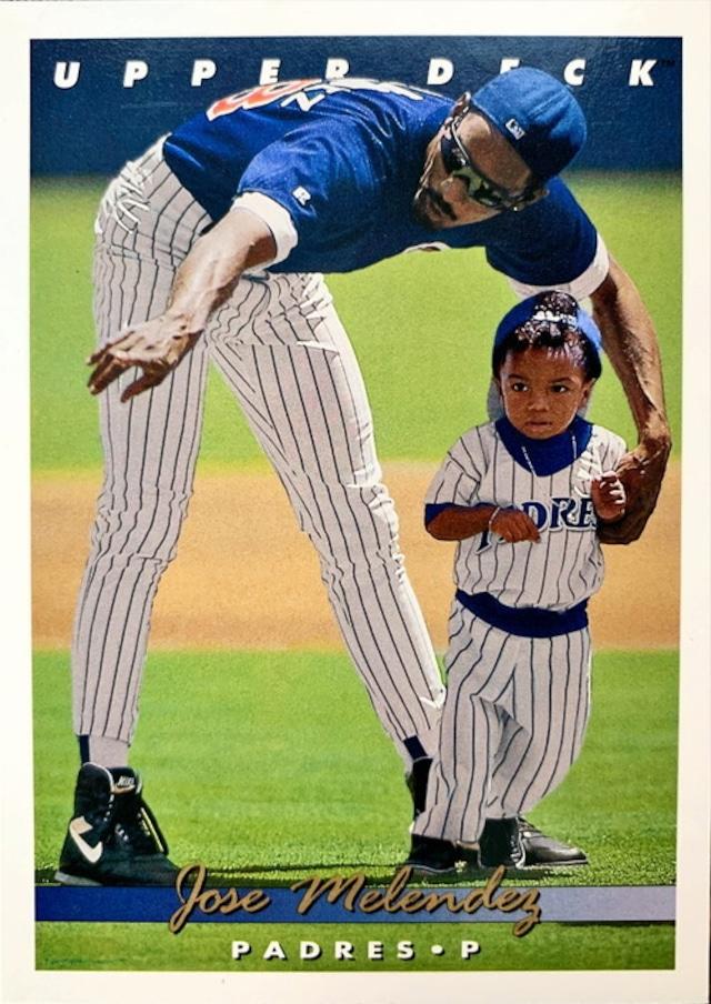 MLBカード 93UPPERDECK Jose Melindez #288 PADRES