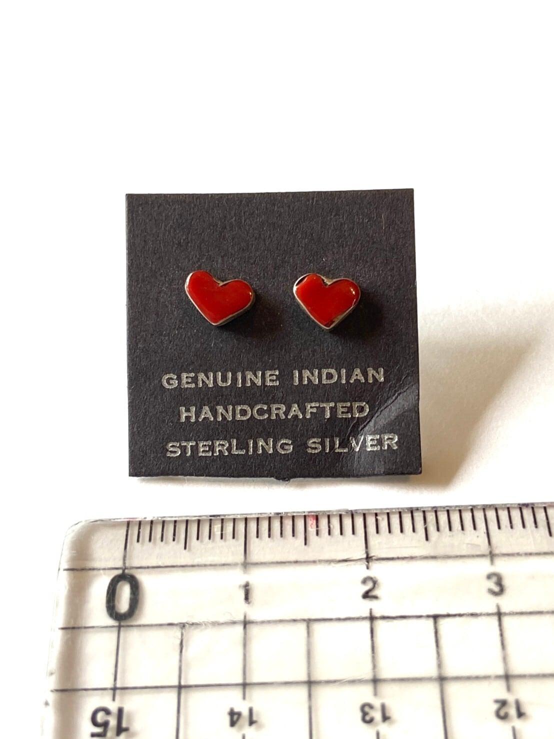 【Indian jewelry】ピアス~ハート~