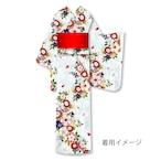 仕立上り浴衣⑳桜と菊