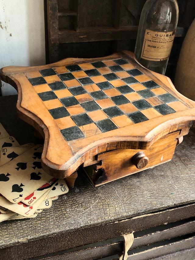卓上チェス ミニテーブル コマ付き