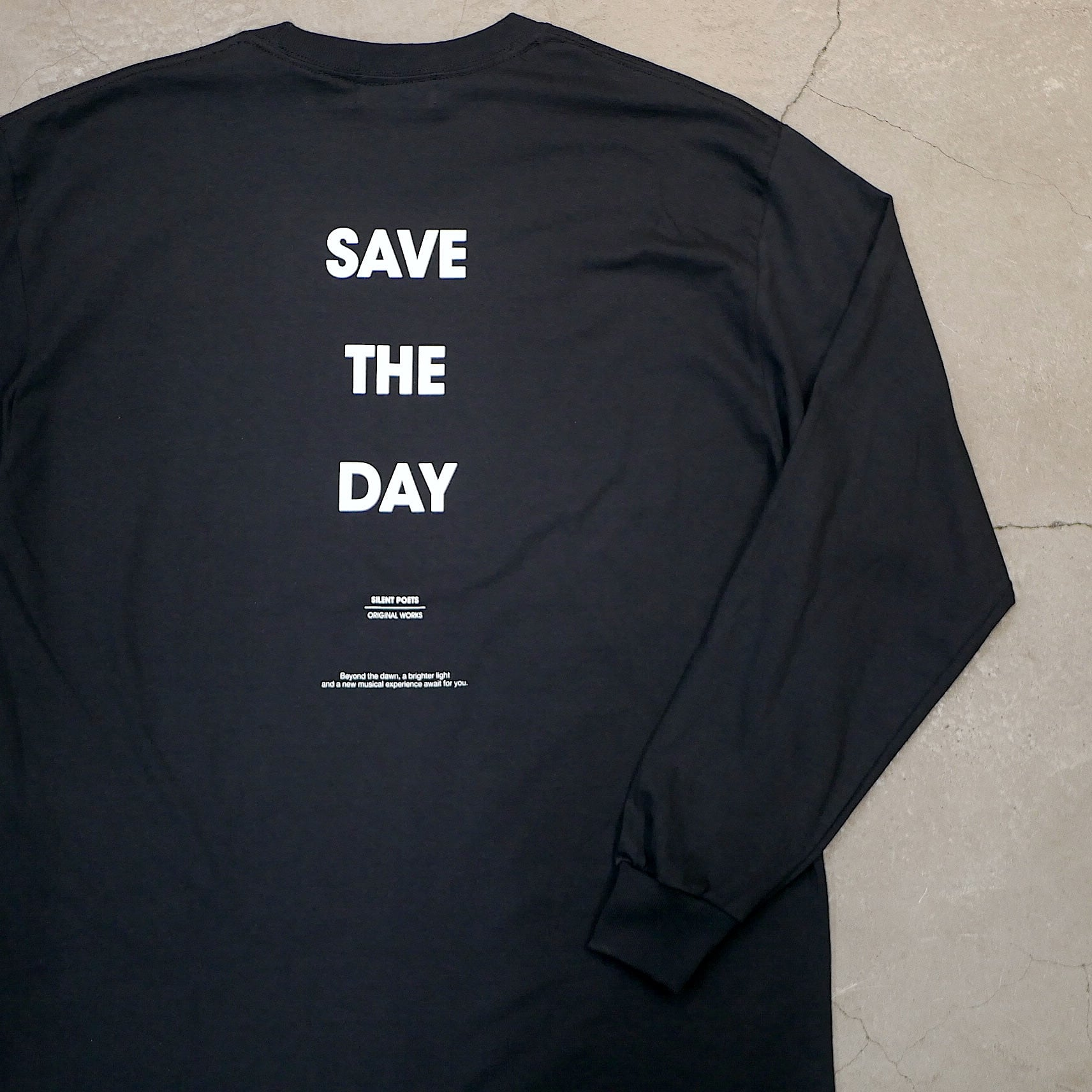 SILENT POETS / LONG SLEEVE T-SHIRTS(SAVE THE DAY)