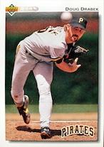 MLBカード 92UPPERDECK Doug Drabek #221 PIRATES