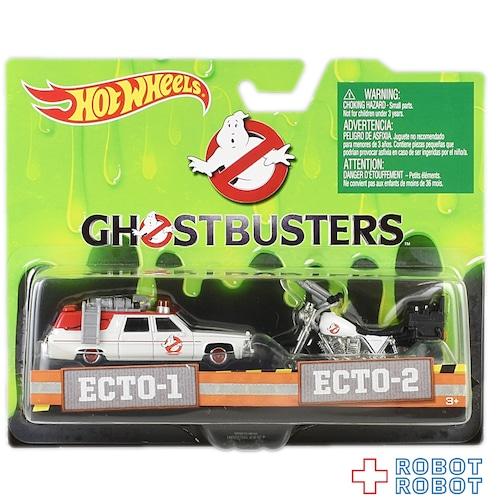 ゴーストバスターズ ECTO-1 & ECTO-2 ホットウィール2パック 開封