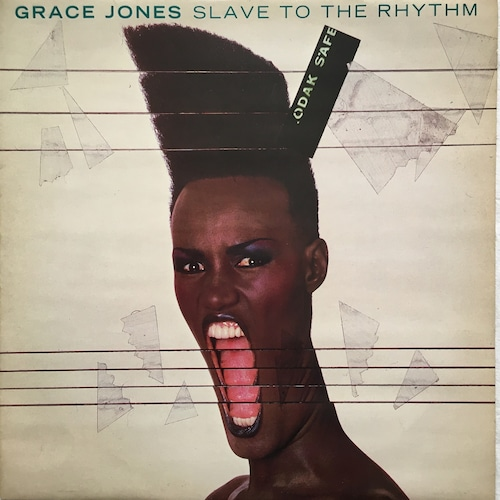 【12inch・英盤】Grace Jones / Slave To The Rhythm (Blooded)