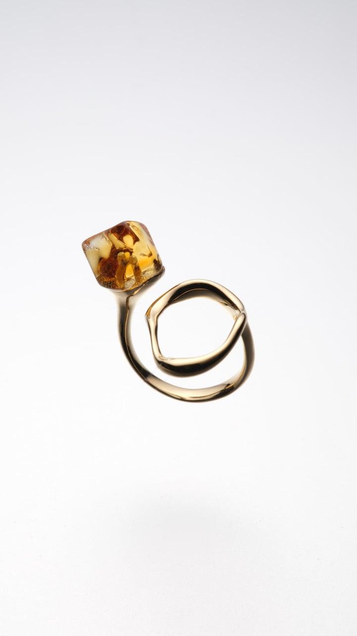 citrine primitive ring 001(CAAC-R033)