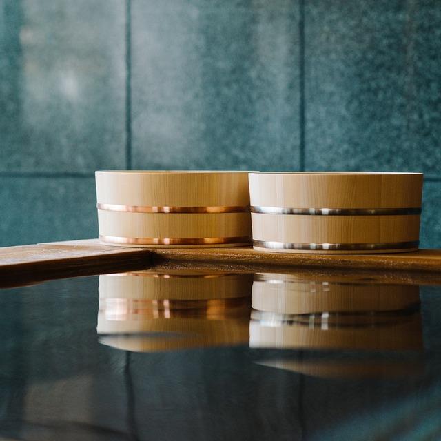 木曽のサワラでつくった湯桶 Kiso Lifestyle Labo