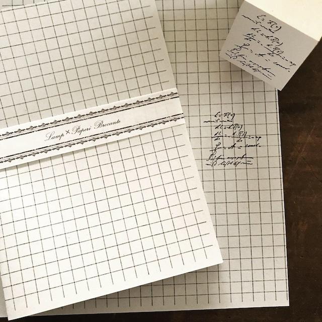 オリジナルスタンプ 手書き文字#2 ー数式ー