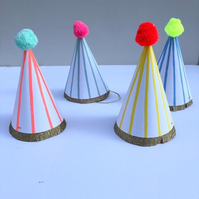 merimeri メリメリ- party hat / パーティーハット ( STRIPE )