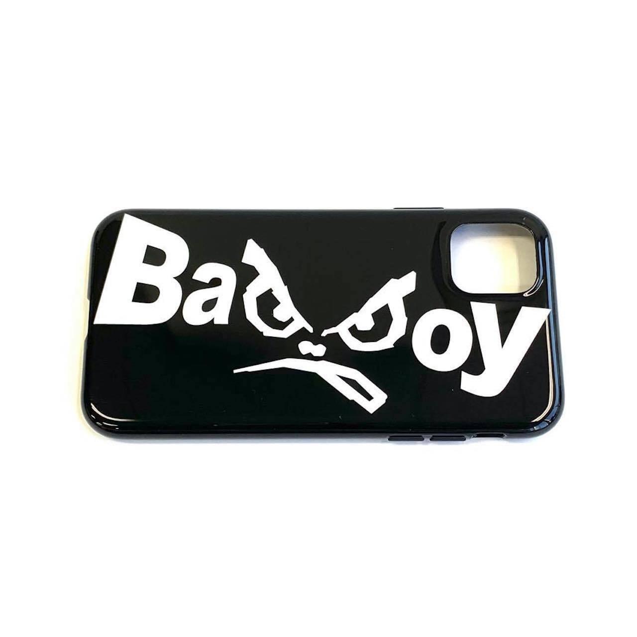 IPhoneケース 【BAD BOY】ブラック