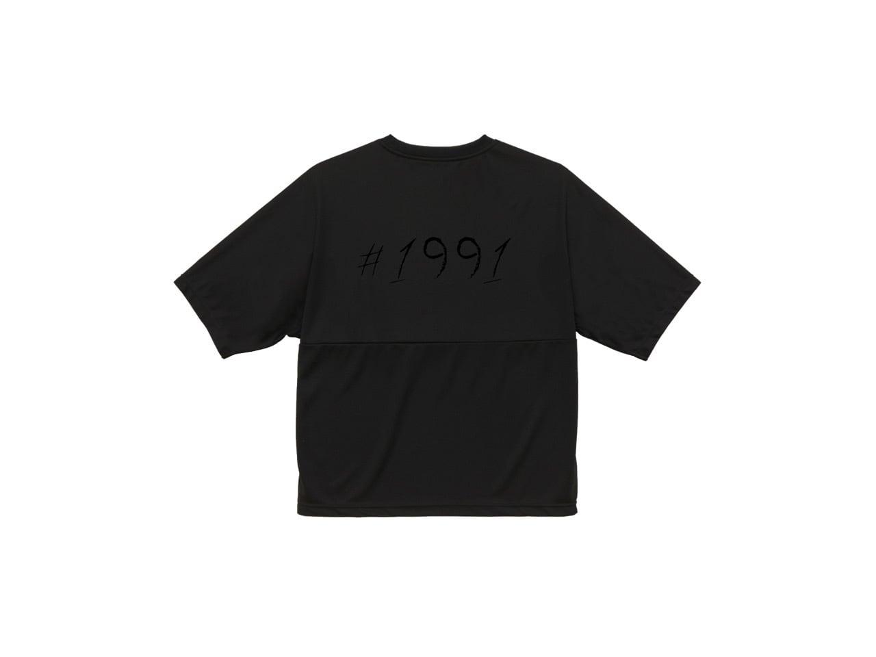1991 dry big T-shirts (BK)