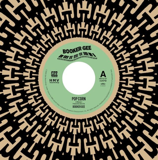 [新品7inch]  Booker Gee - Pop Corn / Granny scratch scratch (レコードの日2020)