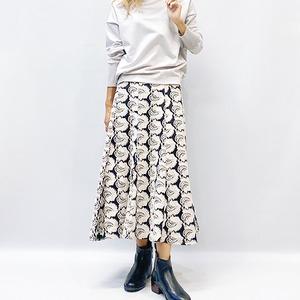 LAGUNAMOON(ラグナムーン) 刺繍レースマーメイドスカート 2021秋冬物新作[送料無料]
