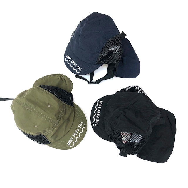 THE PARK SHOP  WATERBOYCAP  日除け付き キャップ