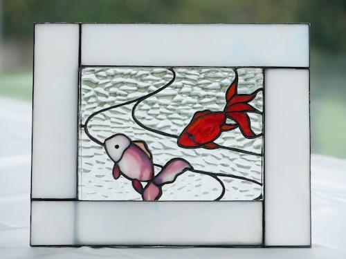 テラリウム(金魚)