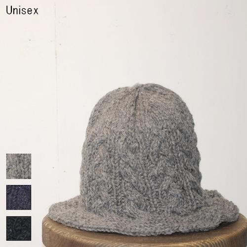 アランニットマウンテンハット ALAN MOUNTAIN HAT (GRAY,NAVY,BLACK) 【Unisex】