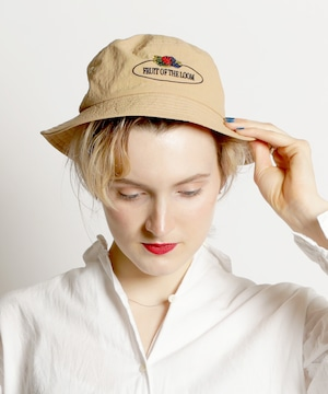14205100【FRUIT OF THE LOOM/フルーツオブザルーム】RETRO BUCKET HAT