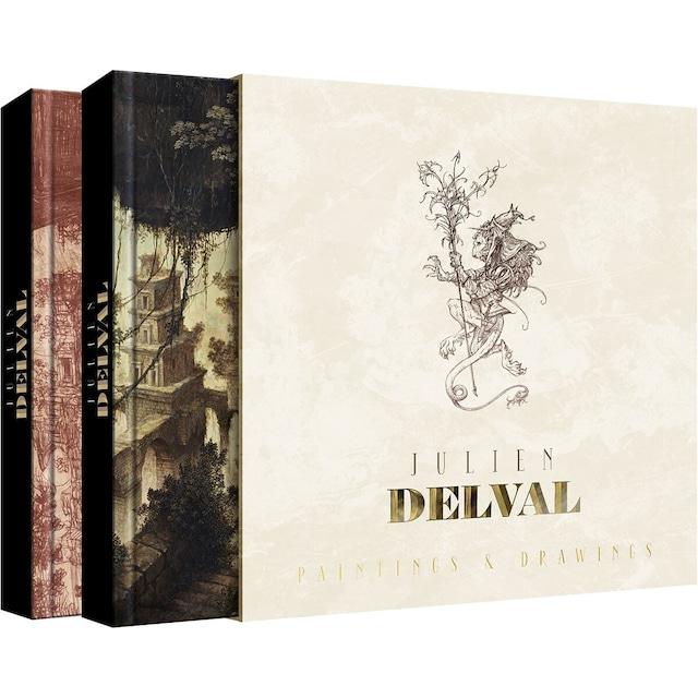 アートブック「L'intégrale de Julien Delval (ジュリアン・デルヴァル完全版)」イラストレーターJulien Delval