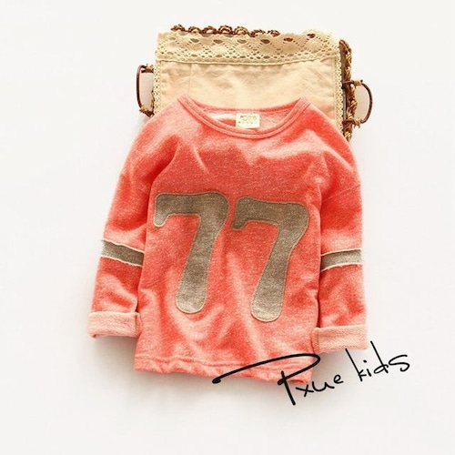 ナンバー77 ロングTシャツ