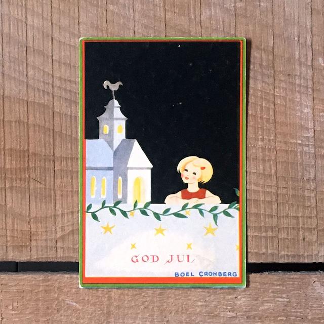 ミニ・クリスマスカード「Boel Cronberg(ボエル・クローンベリ)」《200312-02》