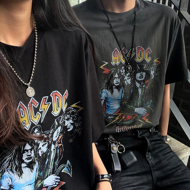 【人気No.5】レトロプリントTシャツ YH6621