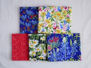 Moda Wildflowers カットクロスセット2