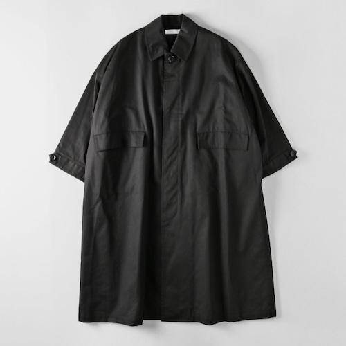 【SETTO】LEAF COAT (BLACK) ユニセックス コート オーバーコート セット MADE IN JAPAN 日本製