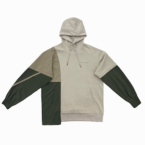 FENG CHEN WANG / PANELLED HOODIE
