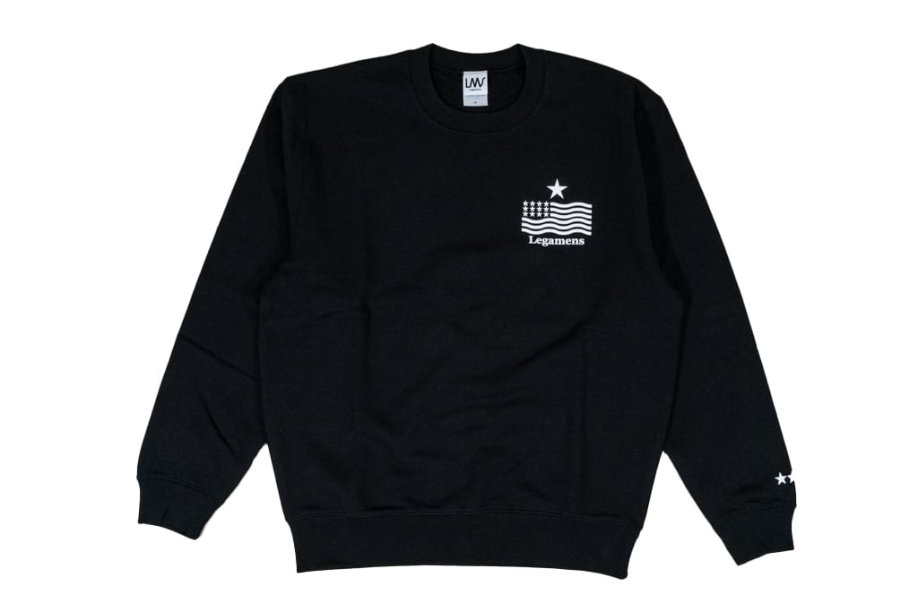 【STAR logo sweat】/ Black