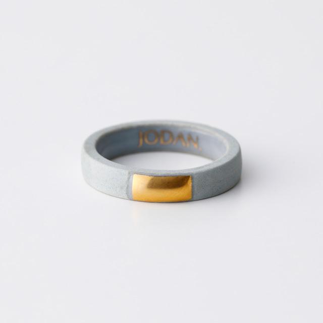 JODAN. aroma ring___Light Gray(square)香りを染み込ませるアロマリング