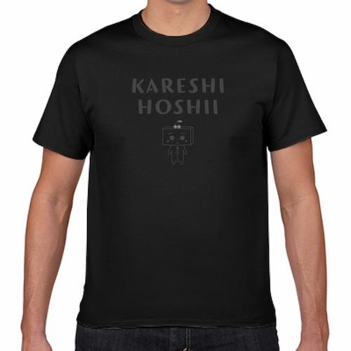 とうふめんたるずTシャツ(あんずちゃん・黒)