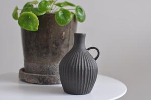 大谷哲郎花器(黒)medium