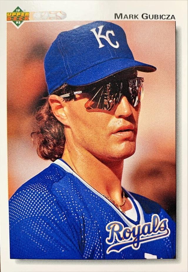 MLBカード 92UPPERDECK Mark Gubicza #459 ROYALS