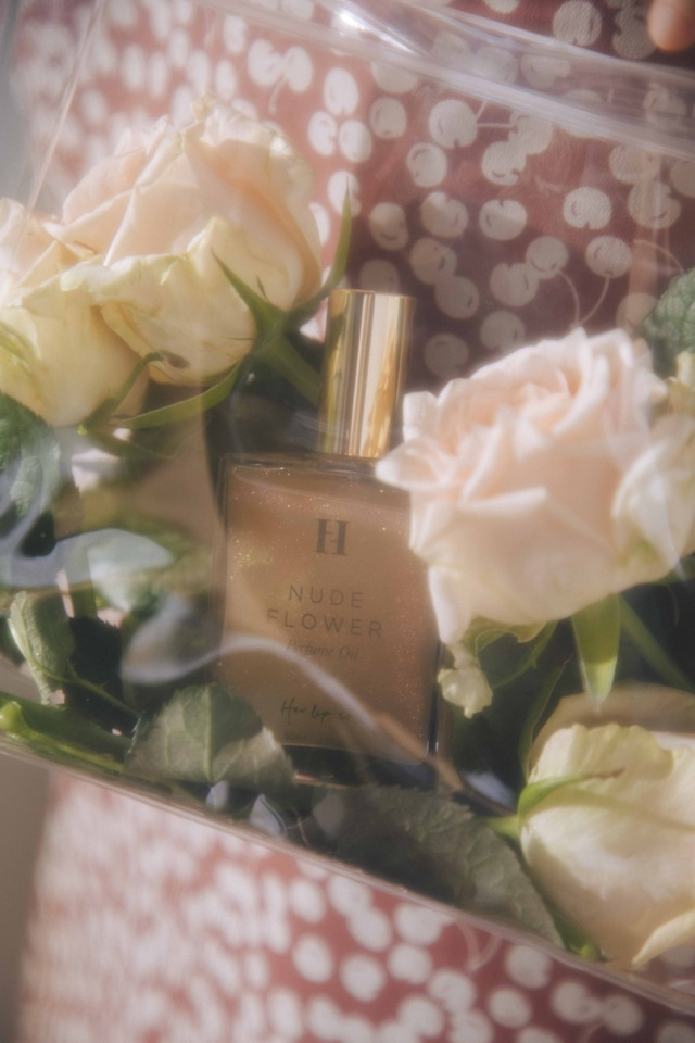 PERFUME OIL by HLT -NUDE FLOWER-