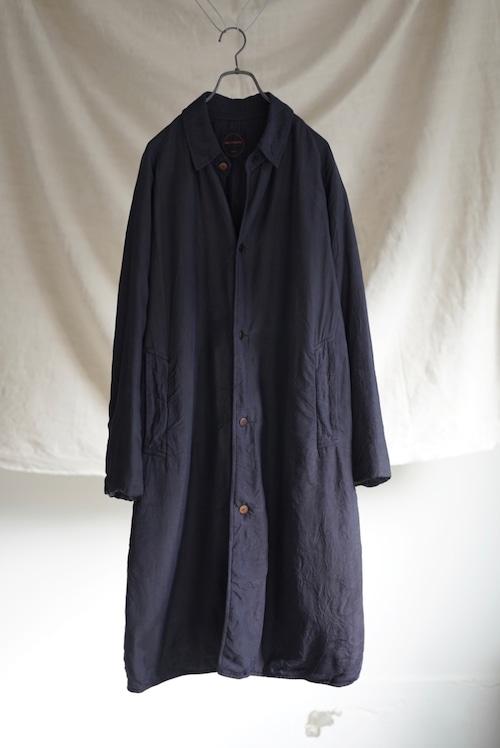 <SOLD OUT>Chez VIDALENC - Bobi Coat Long Silk Fill Cotton