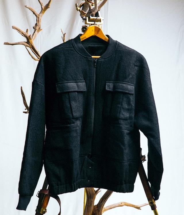 JOE CHIA - Uens woven bomber jacket - JA05