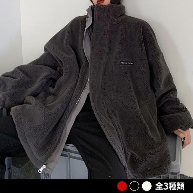 《ランキング16位》リバーシブルボアジャケット(全3色) / HWG388