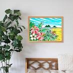 原画 A3(Kailua Sky)