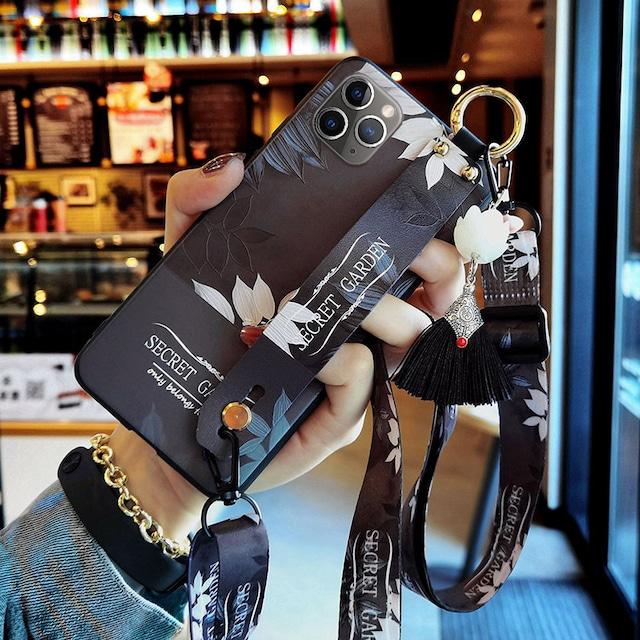 【YOUPINシリーズ】★携帯ケース★3color選択可能 iPhone 12 12mini 12Pro 12ProMax チャイナ風ケース フリンジ