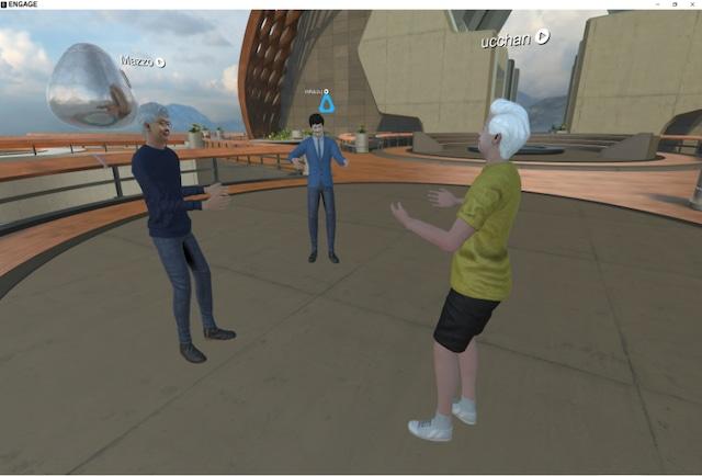 はじめてみようVR②『VR内で対話しよう!』