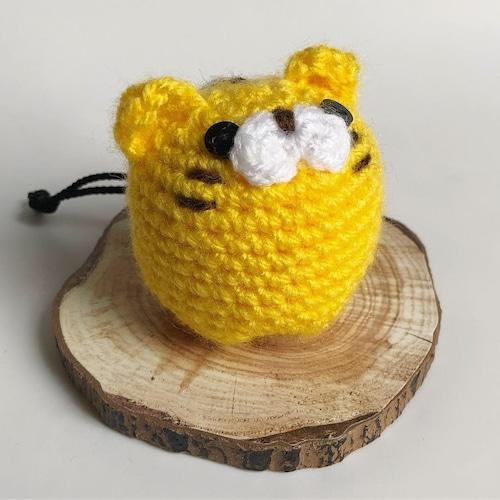 とら 黄色 チョークボール