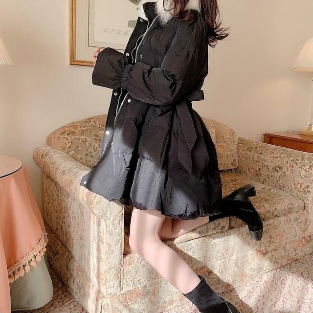 【10/29 21:30再入荷】プリンセスボリュームダウン(Black)