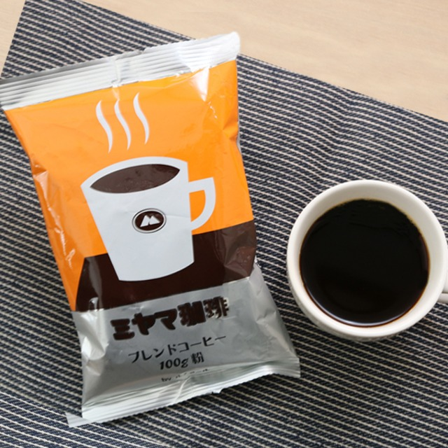 【送料無料】喫茶室ルノアール&ミヤマ珈琲 ブレンドコーヒー(各3個)