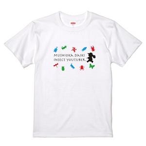 むし岡だいきTシャツ2020[白]