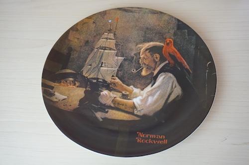ノーマンロックウェル 絵皿(114-08)