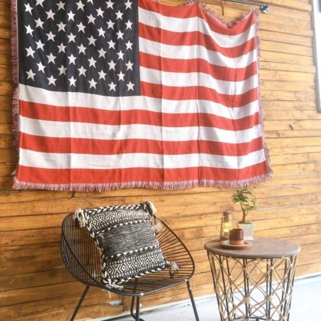 TOPANGA Homefurnishing USAフラッグスローケット 130×180cm