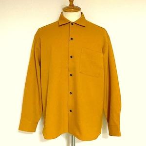 LANATEC®LEI Regular Collar Shirts Mustard