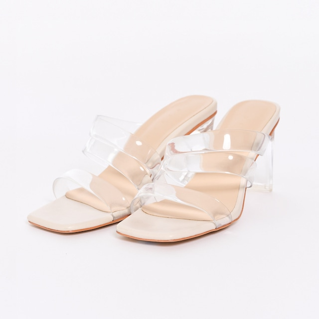 Clear Nude Sandals