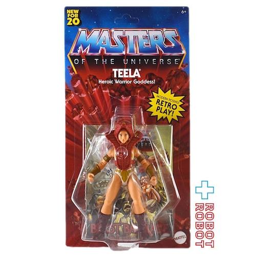 マテル MOTU マスターズ・オブ・ザ・ユニバース オリジンズ 5.5インチ ティーラ アクションフィギュア